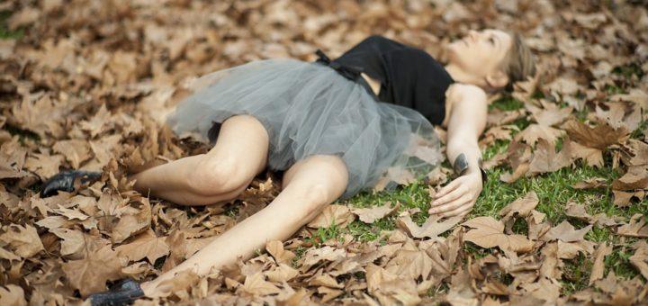 Sukně na podzim